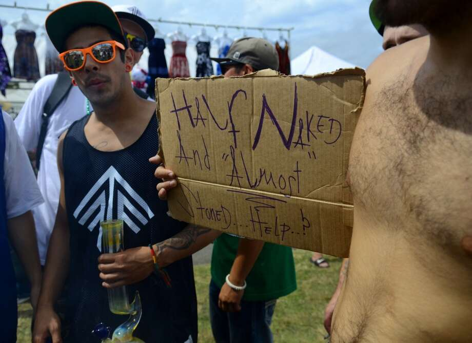 Thousands attended the second day of the annual Hempfest Saturday, Aug. 17, 2013, at Myrtle Edwards Park in Seattle. This is the first year for the annual pro-pot rally since Washington State voters legalized recreational use of marijuana. (Sy Bean, seattlepi.com) Photo: SY BEAN, SEATTLEPI.COM