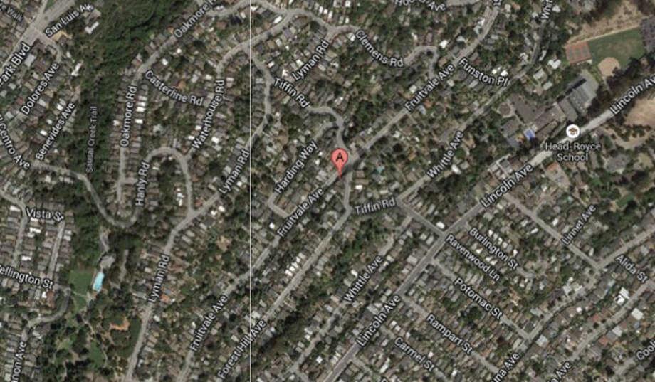 4100 block of Fruitvale Avenue, Oakland, CA Photo: Google Maps