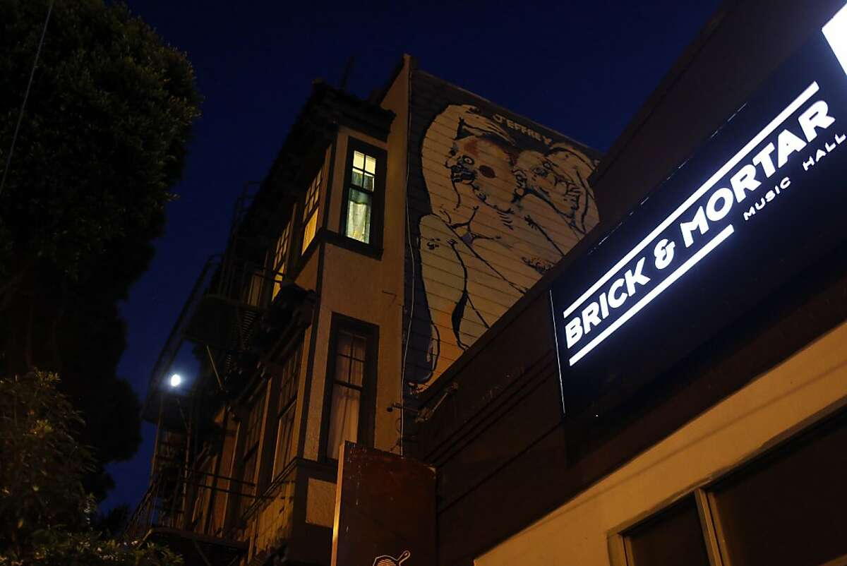 The Brick and Mortar Music Hall which had to install soundproofing to their venue because of neighborhood complaints in San Francisco, Calif. on August 15, 2013.