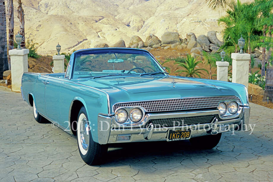The car that became a Lincoln started out as a Ford.   As the design process evolved, the style of the concept car was judged too formal for the third generation of the sporty Thunderbird, but just right for the elegantly continental Continental.  The beauty of the Lincoln is in its square shouldered symmetry and design simplicity.  Seen side on, the Lincoln shows balanced proportions, with suicide doors centered along slab sides.  The refined grille up front is balanced by a matching back grille between the tail lamps.  There are no bad angles. Photo: Copyright: Dan Lyons 2010 / copyright: Dan Lyons 2010