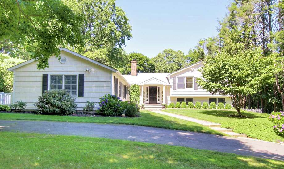 The split-level house at 270 Hoydens Lane is on the market for $775,000. Photo: Contributed Photo / Fairfield Citizen contributed