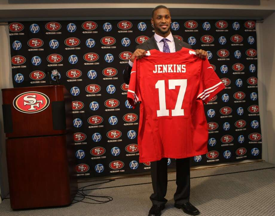 San Francisco 49ers introduce their first round draft pick AJ Jenkins at 49ers headquarters in Santa Clara, Calif.,  on Friday, April 27, 2012. Photo: Liz Hafalia, The Chronicle