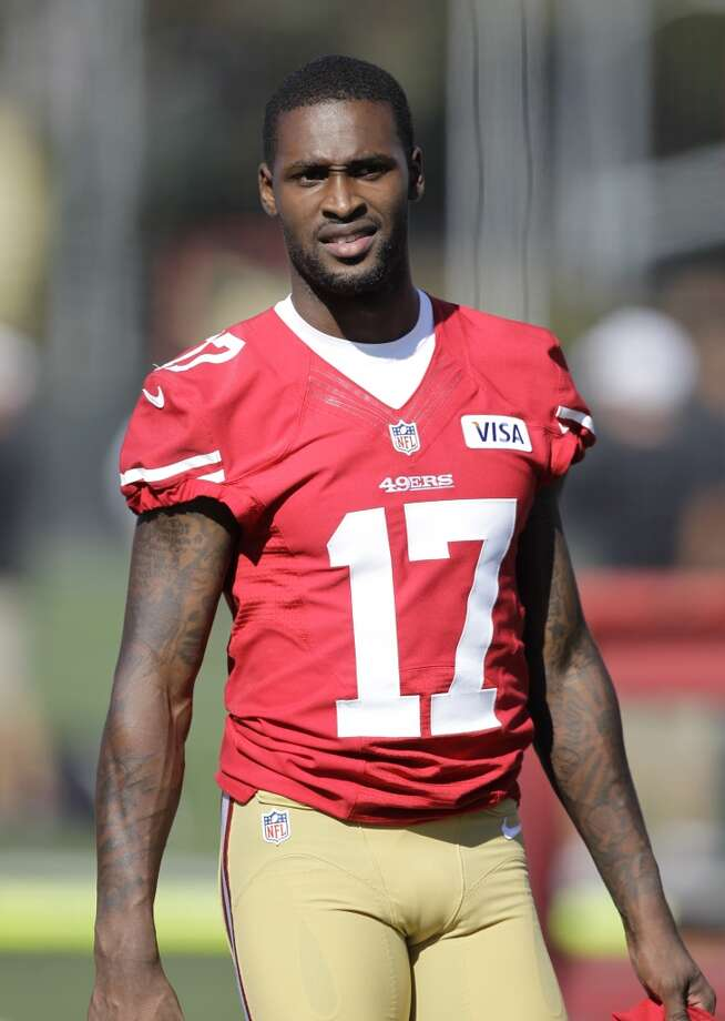 San Francisco 49ers wide receiver A.J. Jenkins (17) during training camp at 49ers NFL football headquarters in Santa Clara, Calif., Friday, July 27, 2012. Photo: Paul Sakuma, Associated Press