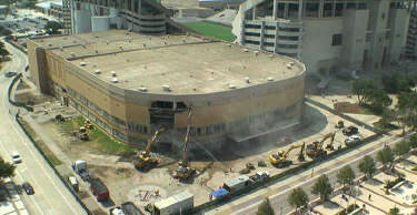 Construction crew uncovers surprise during demolition at A&M