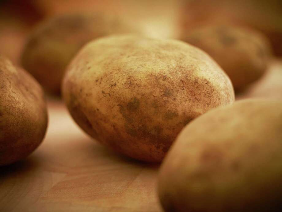 ... half of a medium baked potato (85 calories). Photo: Adam Gault, Getty Images/OJO Images RF / OJO Images RF