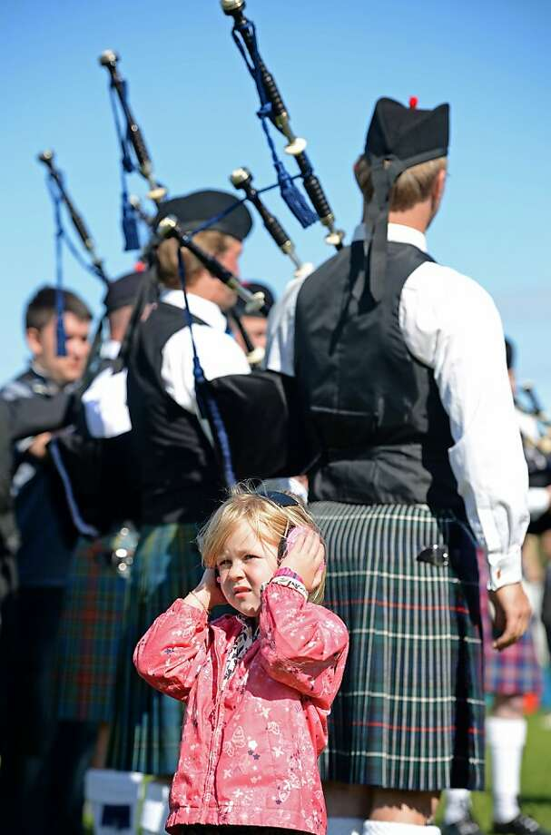 Future 'American Idol' judge: We're not crazy about the bagpipes either. (World 