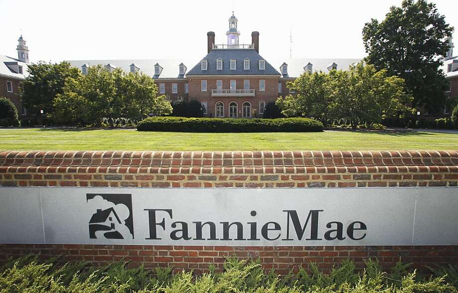Fannie Mae now insures mortgages up to $417,000 in most parts of the U.S. and up to $625,500 in certain high-cost areas, including most Bay Area counties. Photo: Manuel Balce Ceneta, Associated Press