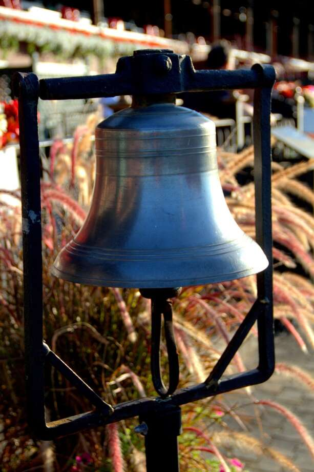 Photo of the bell at Saratoga Race Track. (Pat Marzinsky) Photo: Patricia Marzinsky