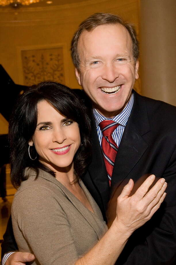 Neil and Maria Bush Photo: Big Brothers Big Sisters
