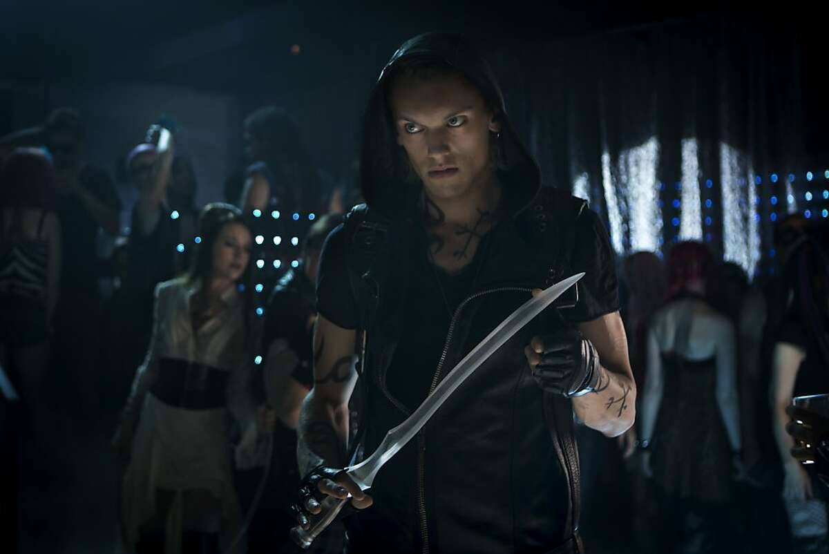 Shadowhunter Jace (Jamie Campbell Bower) in Screen Gems fantasy-action THE MORTAL INSTRUMENTS: CITY OF BONES.