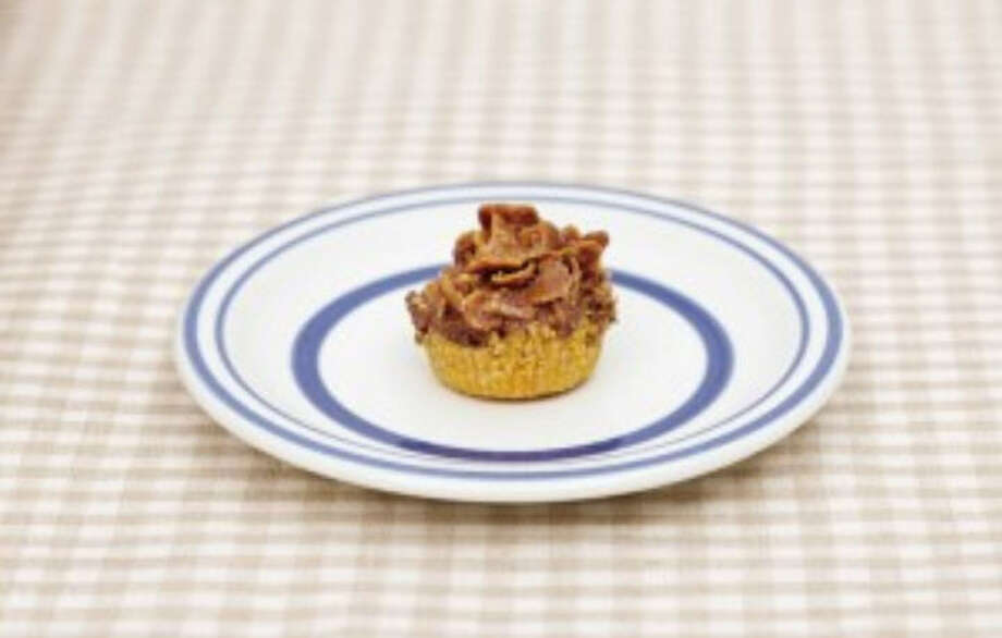 The recipe for Cornflake Fudge Pie is in No Bake Makery By Cristina Suarez Krumsick. Photo: Jeremy Krumsick, No Bake Makery