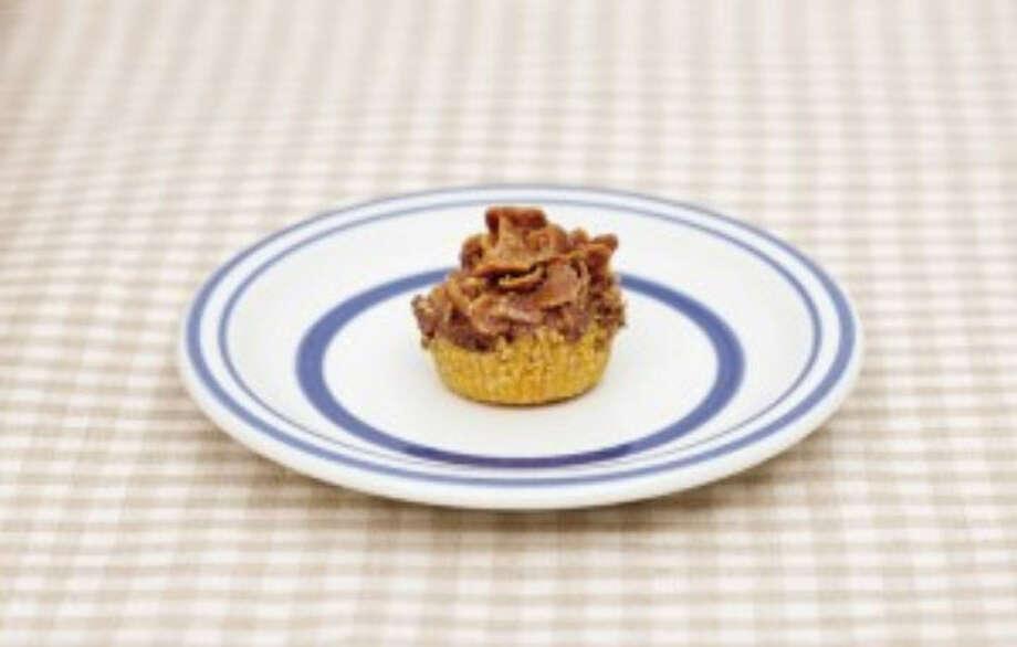 The recipe for Cornflake Fudge Pie is in No Bake Makery By Cristina Suarez Krumsick. Photo: Jeremy Krumsick, No Bake Makery