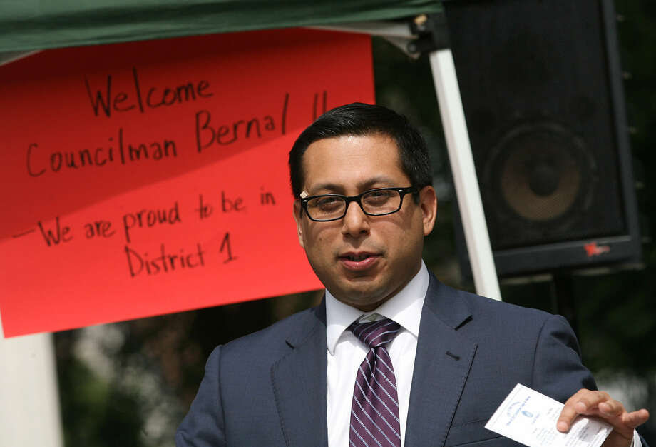 Councilman Bernal has worked with religious leaders to ease concerns about the proposed anti-discrimination ordinance. Photo: Cynthia Esparza / For The Express-News