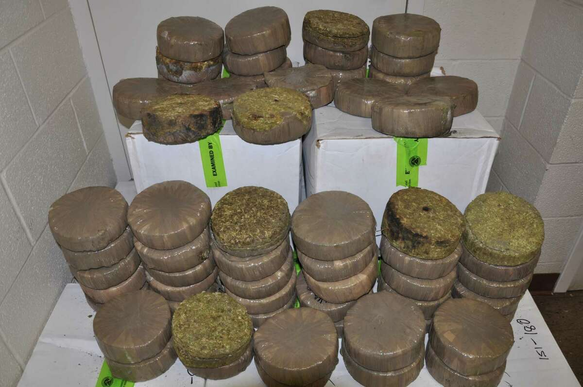 Item: 613 pounds of marijuana  Location: Brownsville, Texas Seized by: U.S. Customs and Border Protection Date: Aug. 19, 2013 Details: Street value of almost $614,000