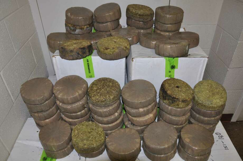 Item:613 pounds of marijuanaLocation:Brownsville, TexasSeized by:U.S. Customs and Border ProtectionDate:Aug. 19, 2013Details:Street value of almost $614,000 Photo: Customs And Border Protection