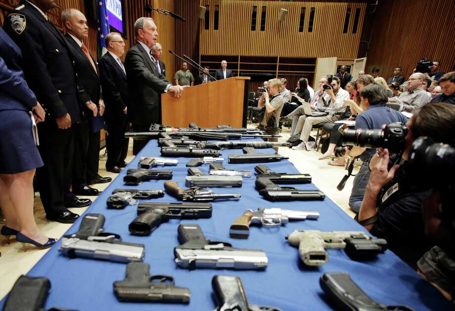 Subject: The disposition of certain seized weaponsThe details: Law enforcement can now sell confiscated weapons. So next time you are in the market for a new shotgun, check your local jail.More information on HB 1421 Photo: Mark Lennihan, STF / AP