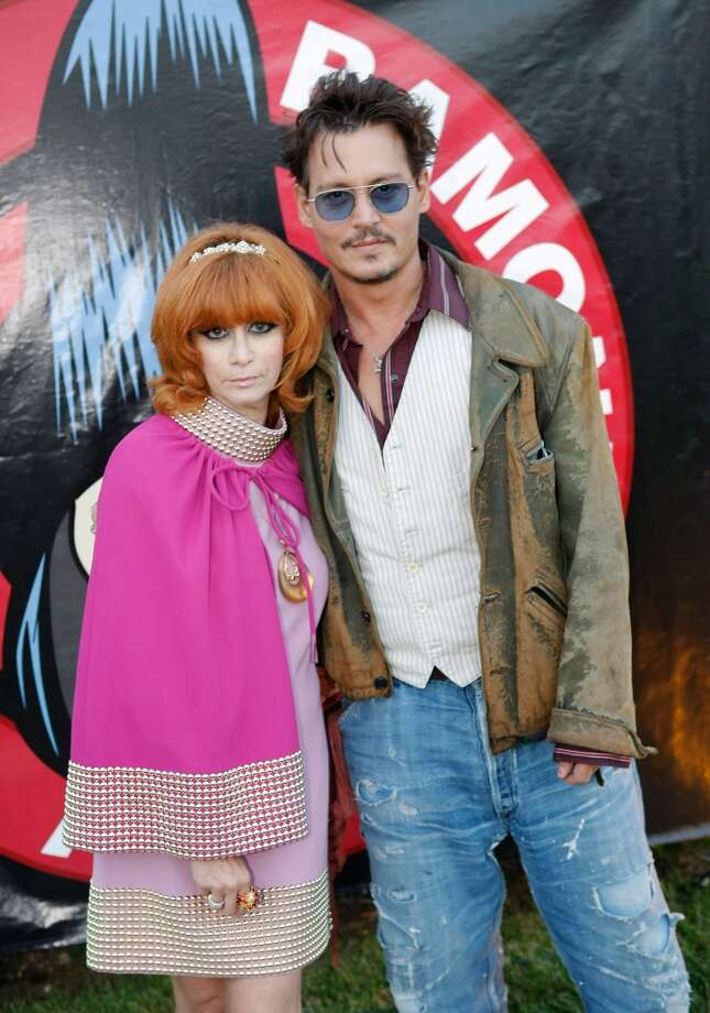 Linda Ramone and actor Johnny Depp attend the 9th Annual Johnny Ramone Tribute at Hollywood Forever on August 18, 2013 in Hollywood, California.  (Photo by Sean tSabhasaigh/Getty Images) Photo: Sean TSabhasaigh, Getty Images