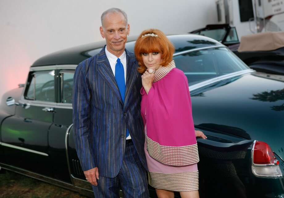 Director John Waters (L) and Linda Ramone (Rt) attend the 9th Annual Johnny Ramone Tribute at Hollywood Forever on August 18, 2013 in Hollywood, California.  (Photo by Sean tSabhasaigh/Getty Images) Photo: Sean TSabhasaigh, Getty Images
