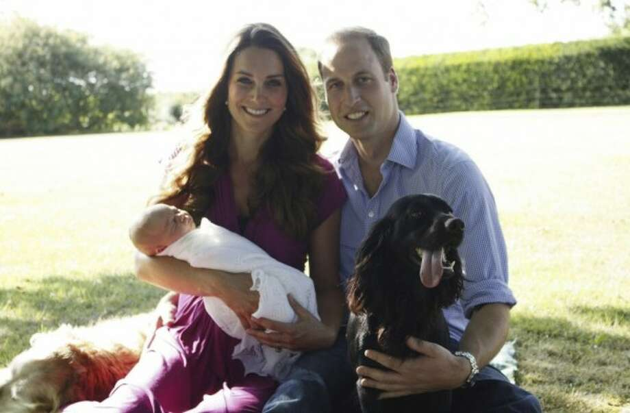 Google #7: The Royal Family. Prince William and Kate Middleton welcomed Li'l George over the summer.