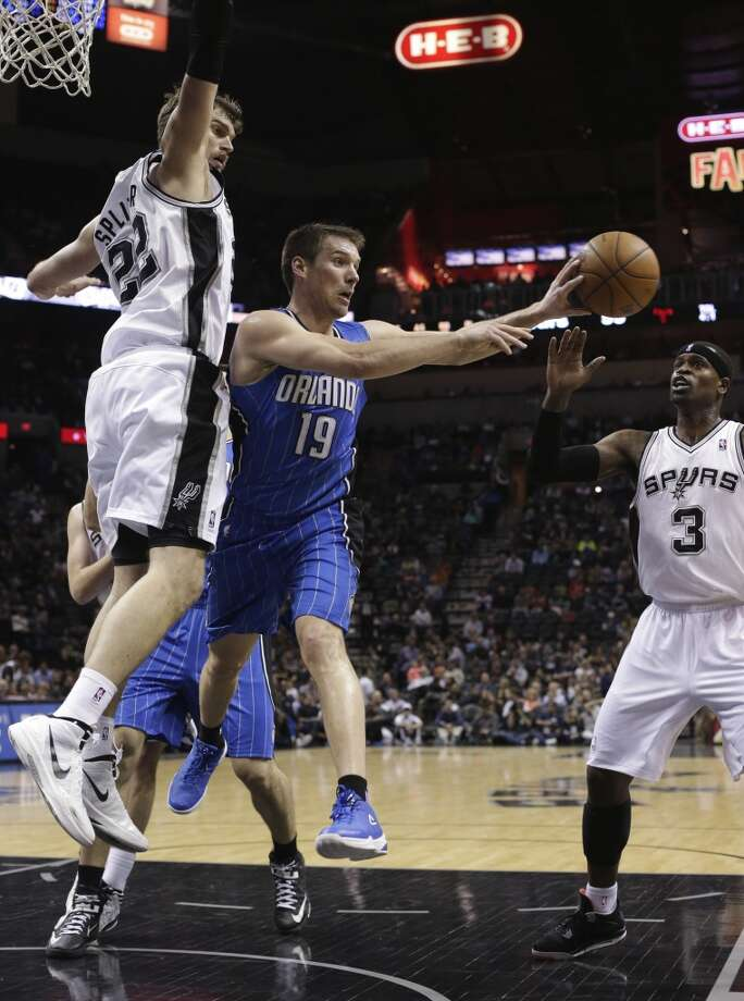 Beno Udrih  Former team: Orlando Magic  New team: New York Knicks Photo: Eric Gay, Associated Press