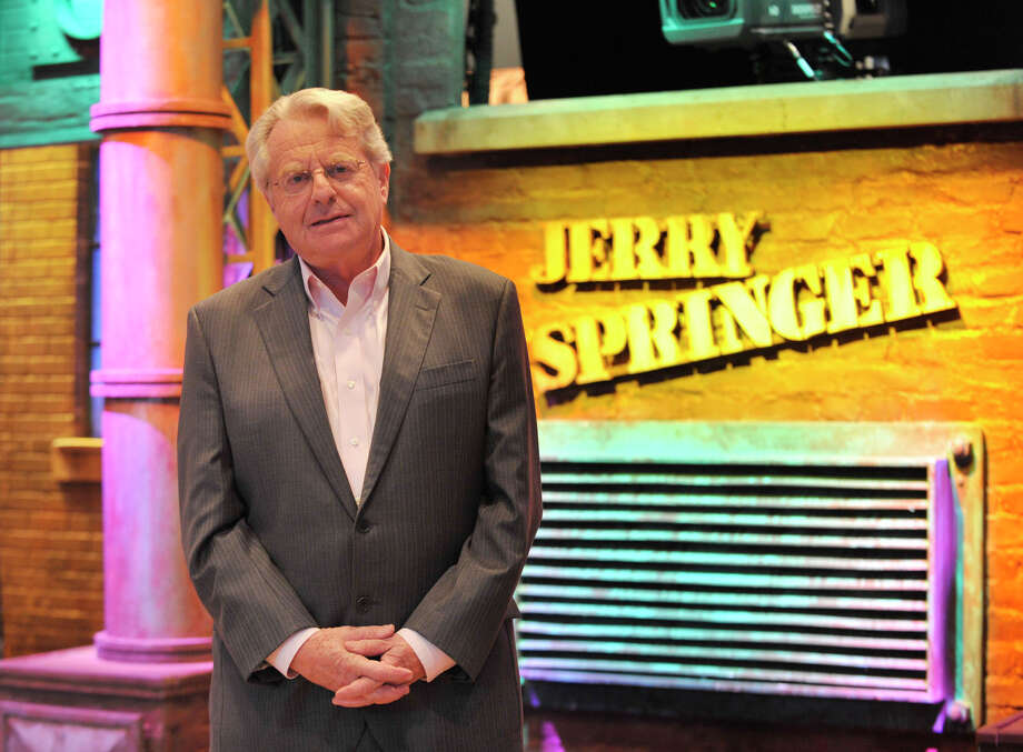 Before his wildly popular, drama-filled daytime TV show, Jerry Springer was the mayor of Cincinnati.  Photo: Jason Rearick / Stamford Advocate