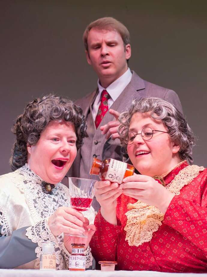 """Patty Tuel Bailey, from left, Kevin Dean and Stephanie Bradow star in """"Arsenic and Old Lace."""" Photo: Courtesy Of Bara Photography"""