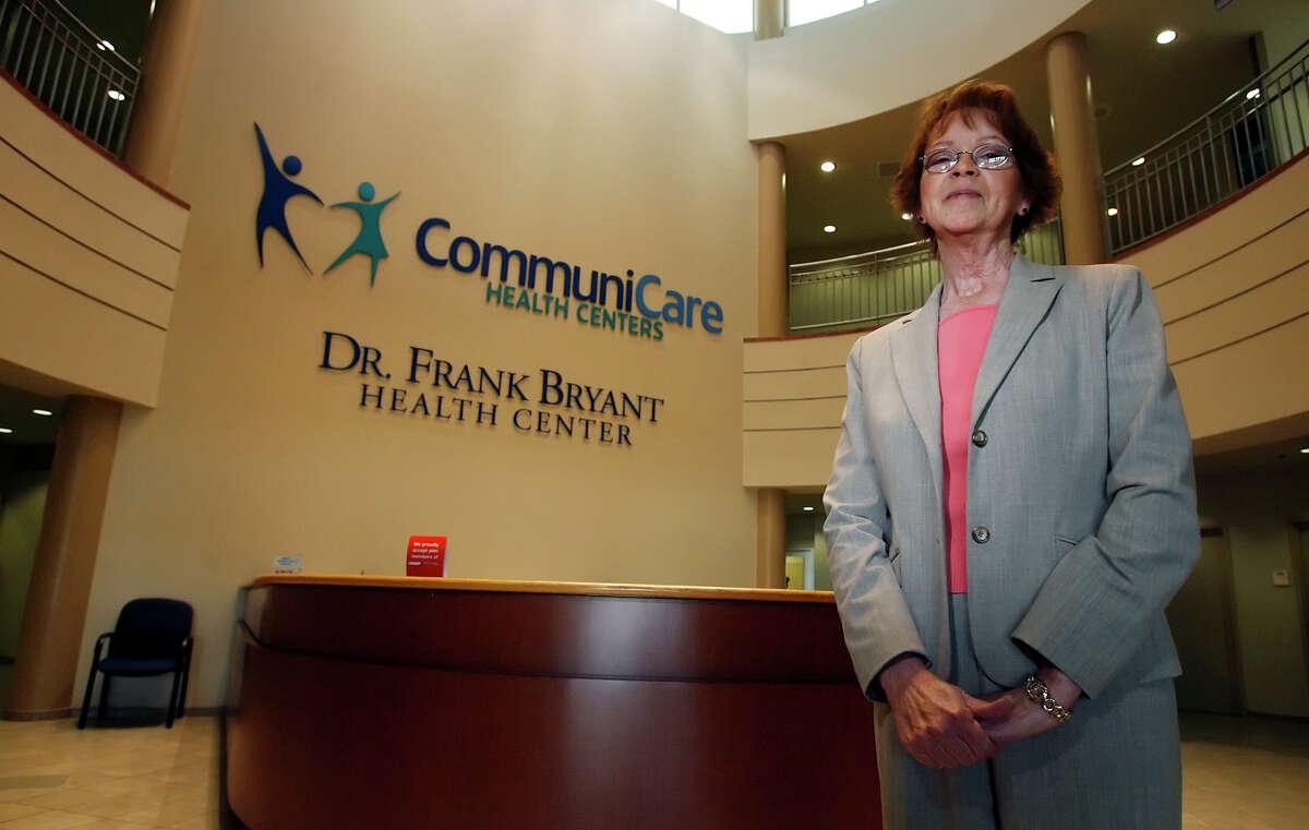 Portrait of CommuniCare Health Center's then-CEO Debbora Thompson on Feb. 19, 2009. Kin Man Hui/kmhui@express-news.net