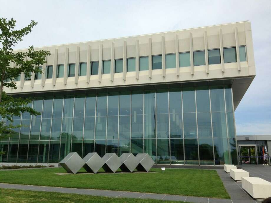 The University at Albany unveiled a new School of Business building on Monday. (Skip Dickstein / Times Union)