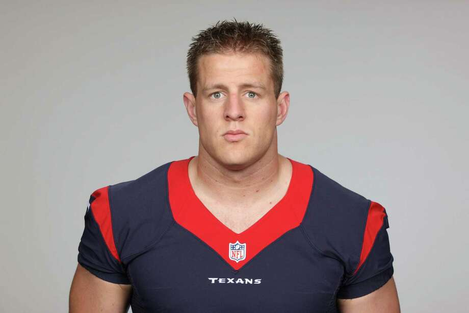 This is a 2013 photo of JJ Watt of the Houston Texans NFL football team. This image reflects the Houston Texans active roster as of Thursday, June 20, 2013 when this image was taken. (AP Photo) Photo: Uncredited, FRE / AP2013