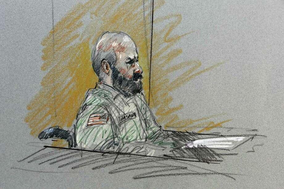 Prosecutors are seeking the death penalty against Maj. Nidal Malik Hasan, the admitted shooter in 2009 rampage. Photo: Brigitte Woosley, Associated Press