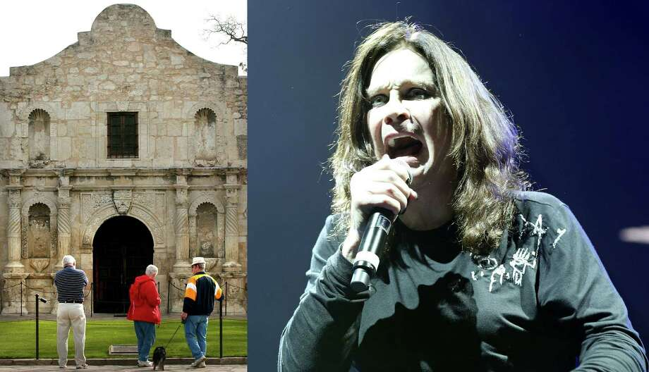 FACT OR FICTION? Ozzy Osbourne relieved himself on the Alamo.Related Slideshow: They messed with Texas: Celebs recently arrested in the Lone Star State Photo: LEFT: Bob Owen / San Antonio Express-News, RIGHT: Edward A. Ornelas / San Antonio Express-News / SAN ANTONIO EXPRESS-NEWS