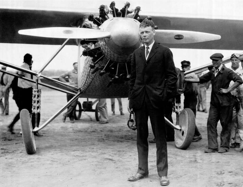 FACT OR FICTION?Famous aviator Charles Lindbergh attended flight training in San Antonio. Photo: Keystone-France, Gamma-Keystone Via Getty Images