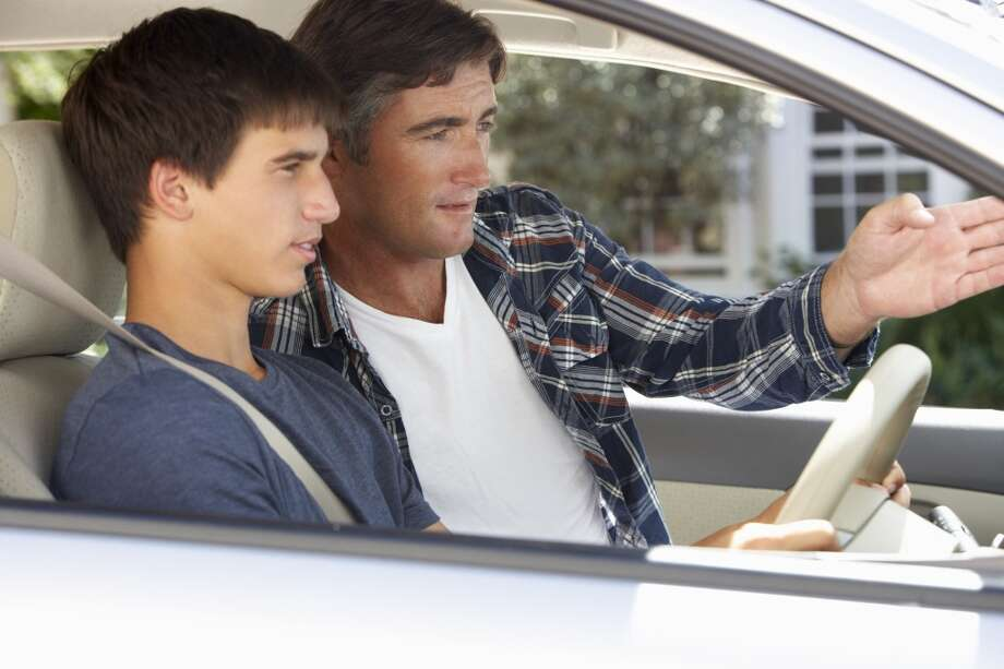 Go over driving ground rules. If your child has their license and  plans on driving to school, remind them about the importance of road safety as well as any other rules you have about using the car. Photo: Mark Bowden, Getty Images