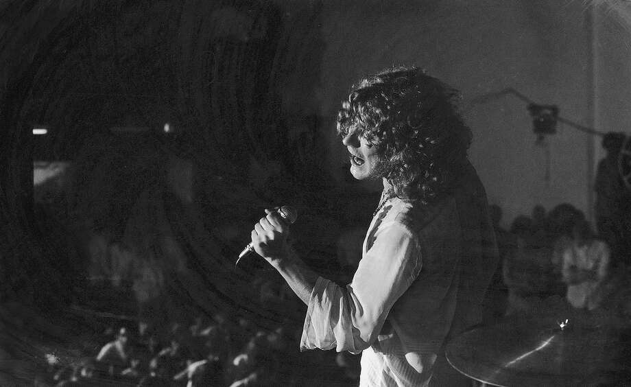 Led Zeppelin lead singer Robert Plant performing in Boston, late 60s. Photo: Charles Bonnay, Time & Life Pictures/Getty Image / Charles Bonnay