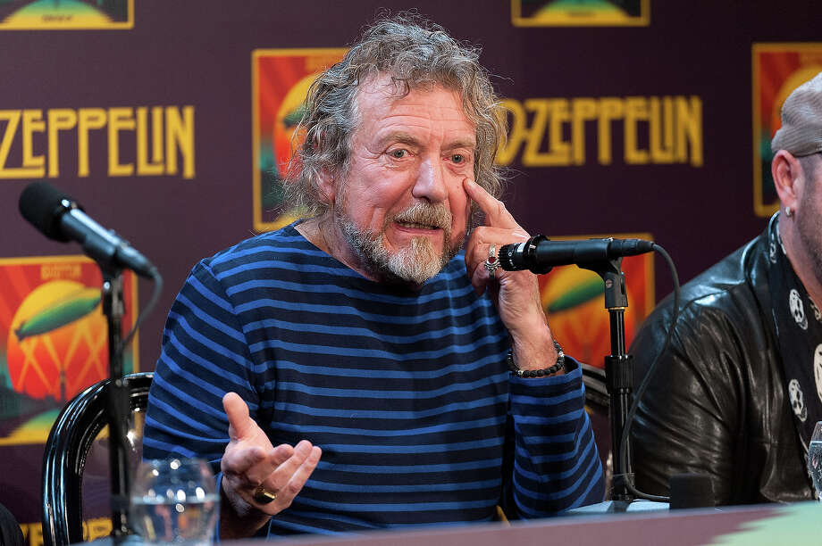 "Robert Plant attends the ""Led Zeppelin: Celebration Day"" press conference at the Museum of Modern Art on October 9, 2012 in New York City. Photo: D Dipasupil, FilmMagic / 2012 D Dipasupil"