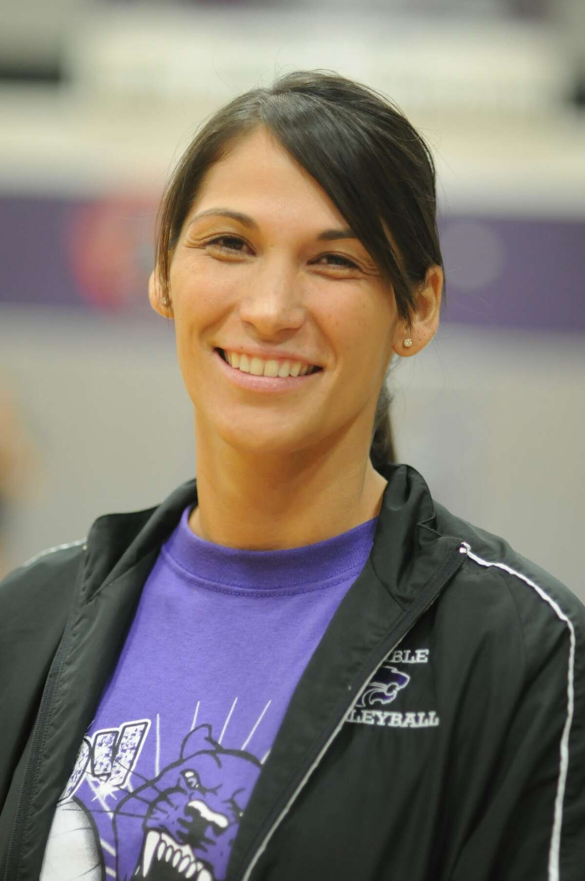 Humble Head Volleyball Coach Michelle Funderburk