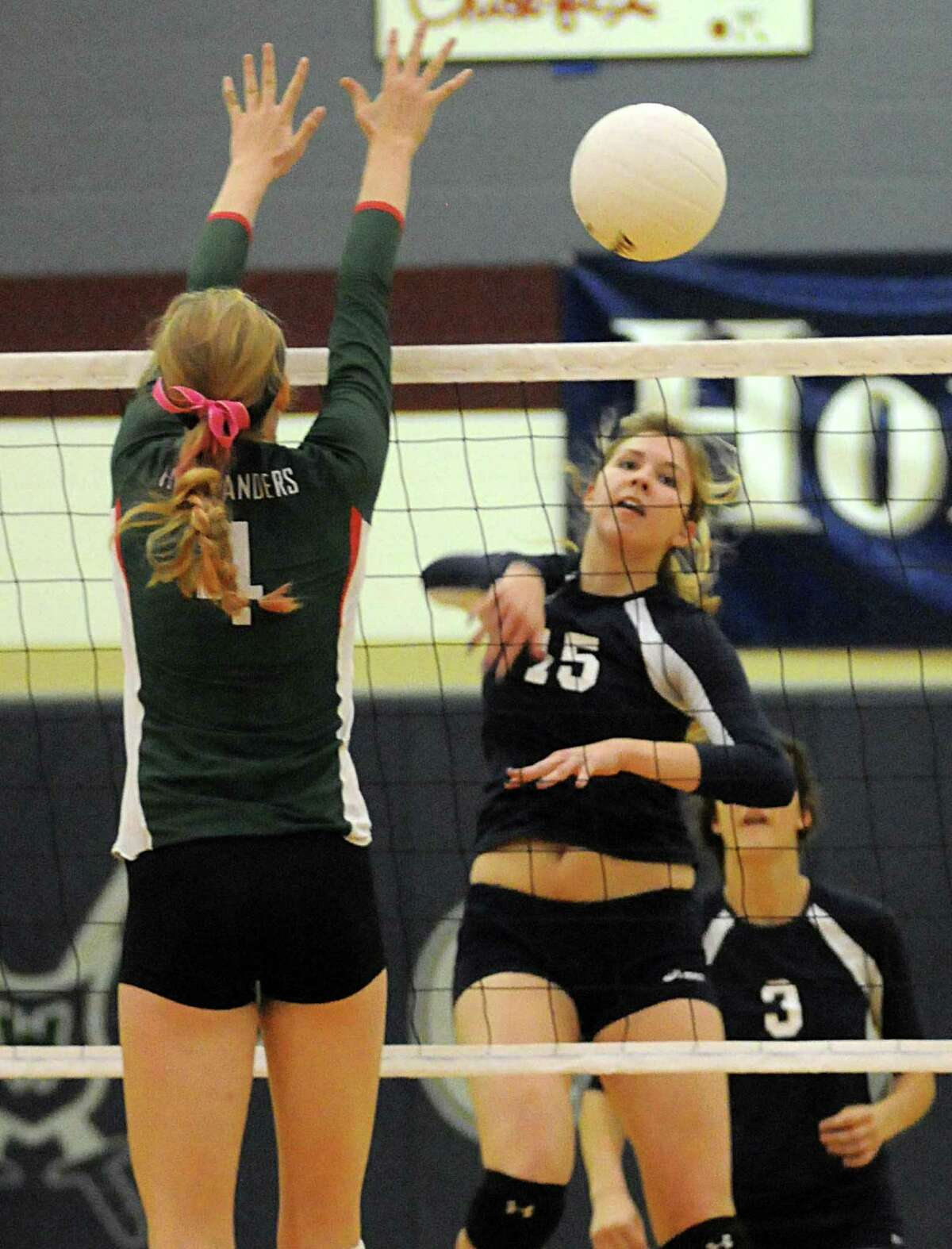 College Park's Alyssa McNeely (15) is among the senior leaders on the court this year for the Cavaliers.
