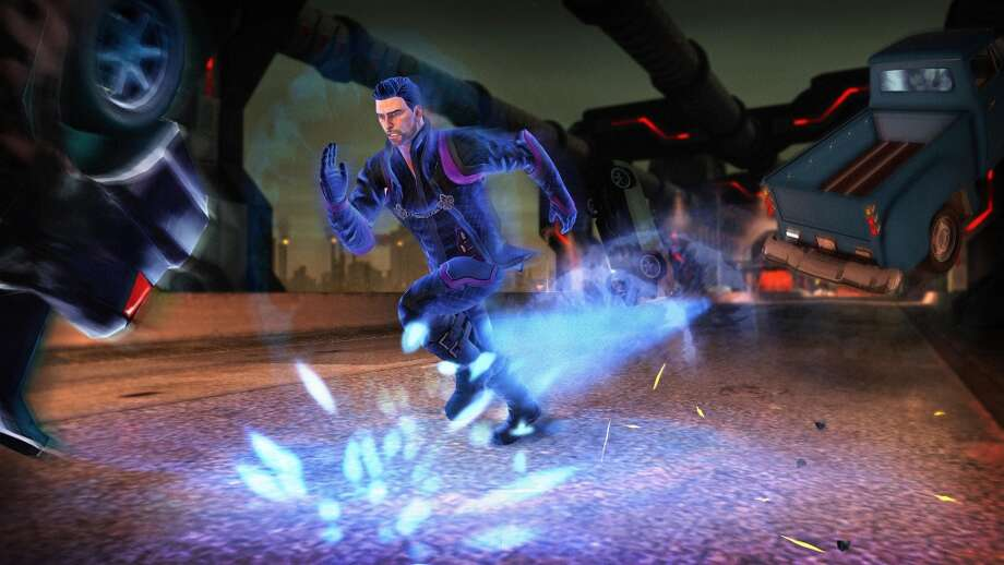This undated publicity photo released by Deep Silver/Volition Inc. shows a scene from the video game, Saints Row IV. Photo: AP, Associated Press