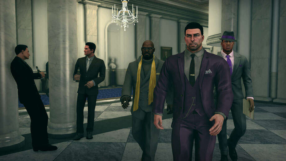 YOU are the president in Saints Row IV. Photo: Volition/Deep Silver