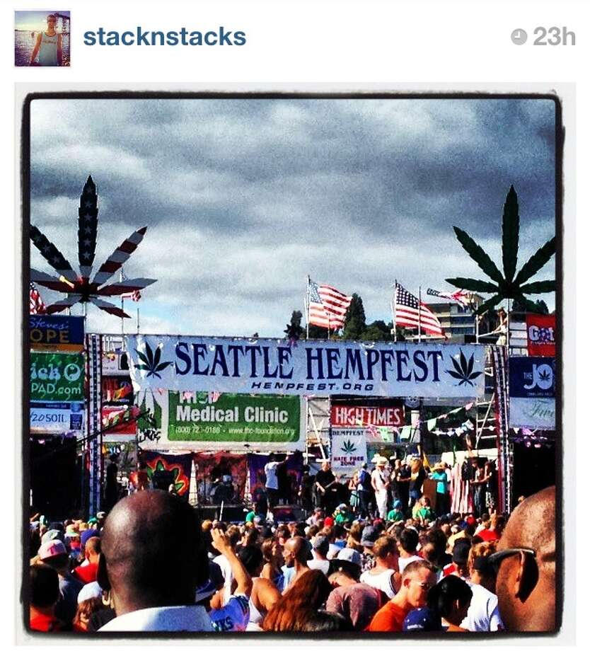 Hazy clouds in the sky and wherever you walk.