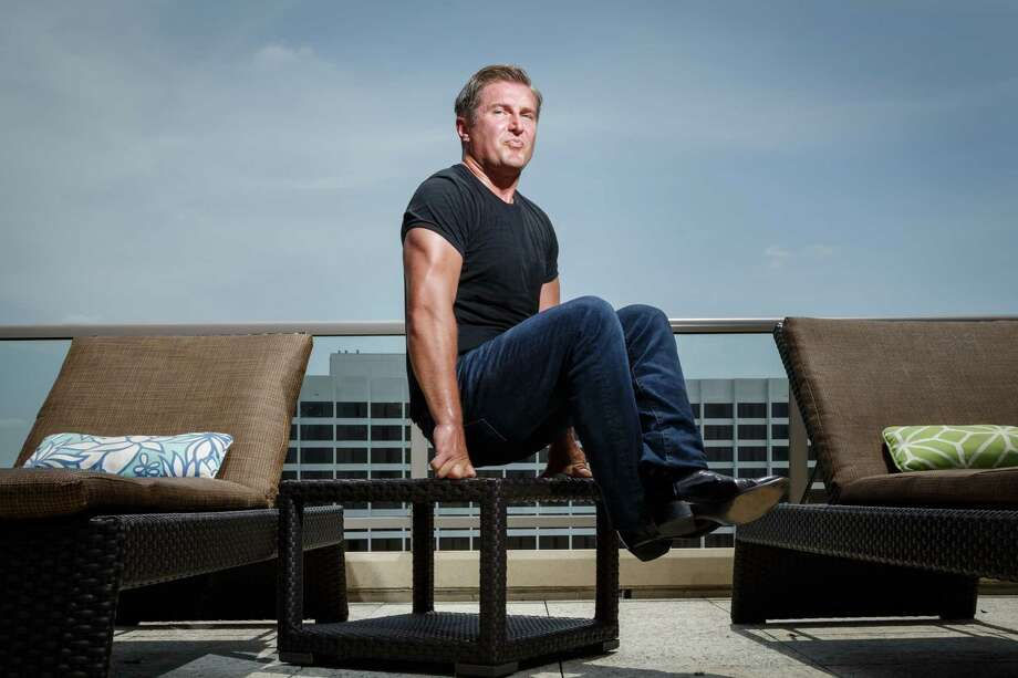 "Houston-based trainer Samir Becic was recently named Houston's ""fitness guru"" to promote physical wellness in the city. Among his other accomplishments, Becic is known for completing extreme challenges involving a weight vest. He once ran seven marathons in eight weeks with a 73.5-pound vest. >>> Click all the way through to see 10 health tips from Becic Photo: Michael Paulsen, Staff / © 2013 Houston Chronicle"