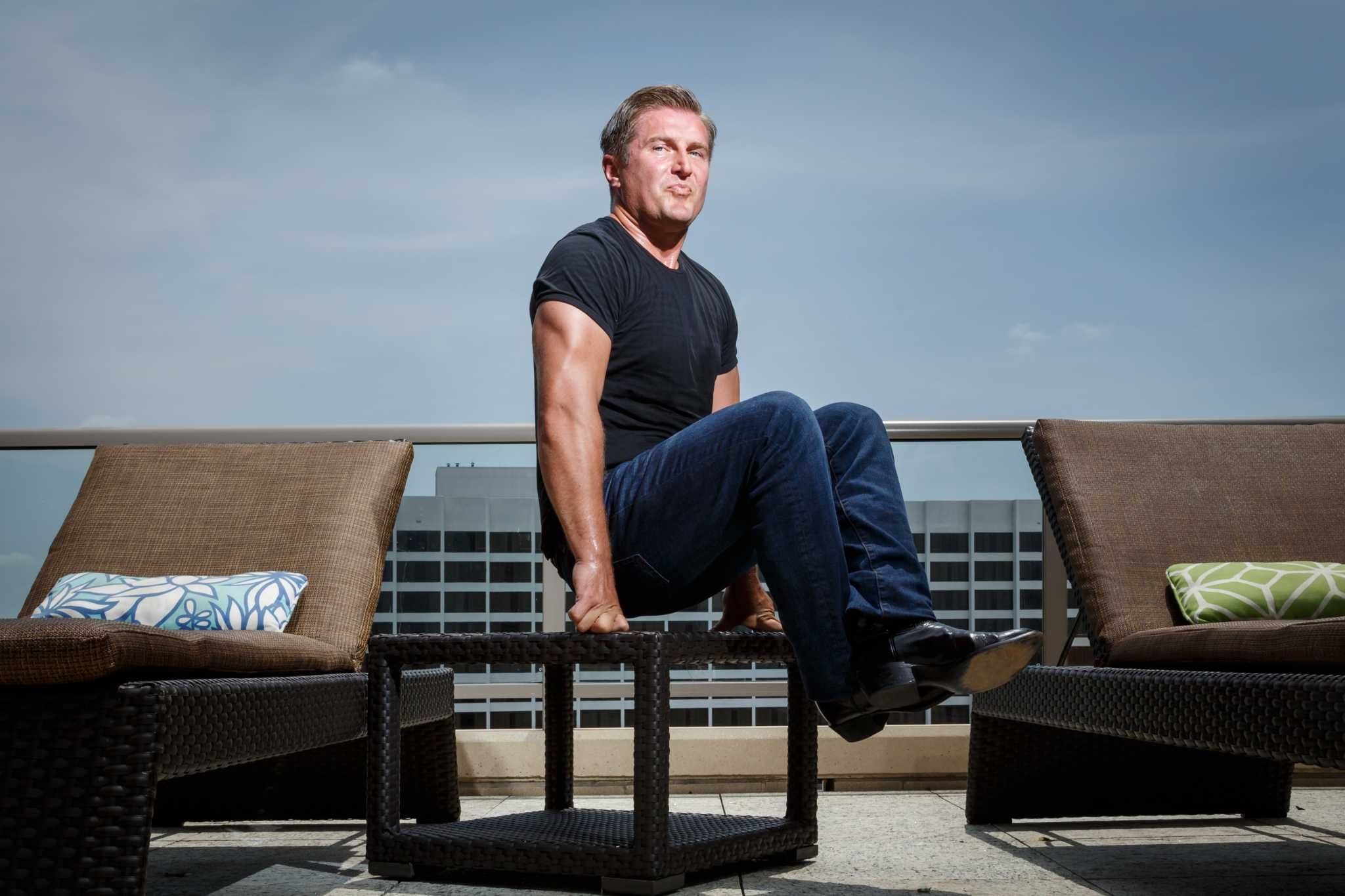 Houston's own Arnold Schwarzenegger? City's new 'fitness guru' is here to pump you up