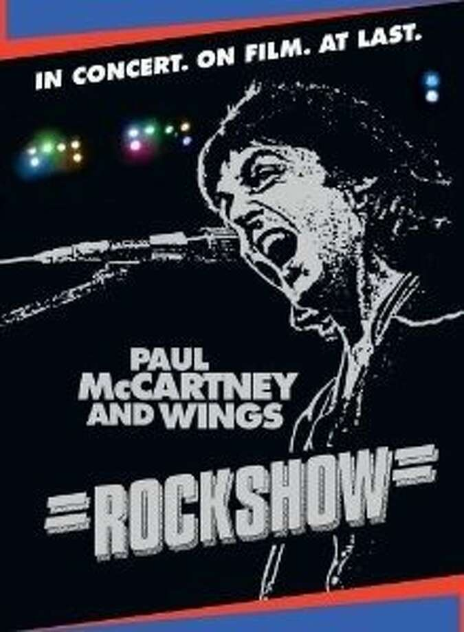 "dvd cover ""Rockshow"" concert film of Paul McCartney and Wings. Photo: Eagle Rock Entertainment"
