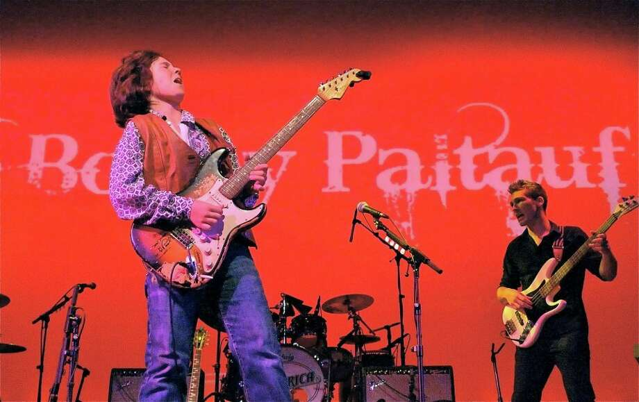 13-year-old guitar virtuoso and Redding resident Bobby Paltauf will perform a benefit show, A Concert For Kevin, at Toad's Place in New Haven on Friday, Aug. 23.