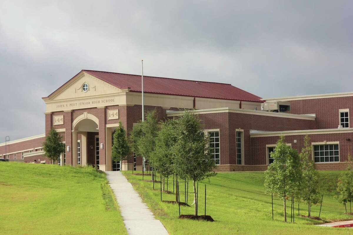 The new Peet Junior High School is ready for the school year. An open house for parents will be held Sept. 3.