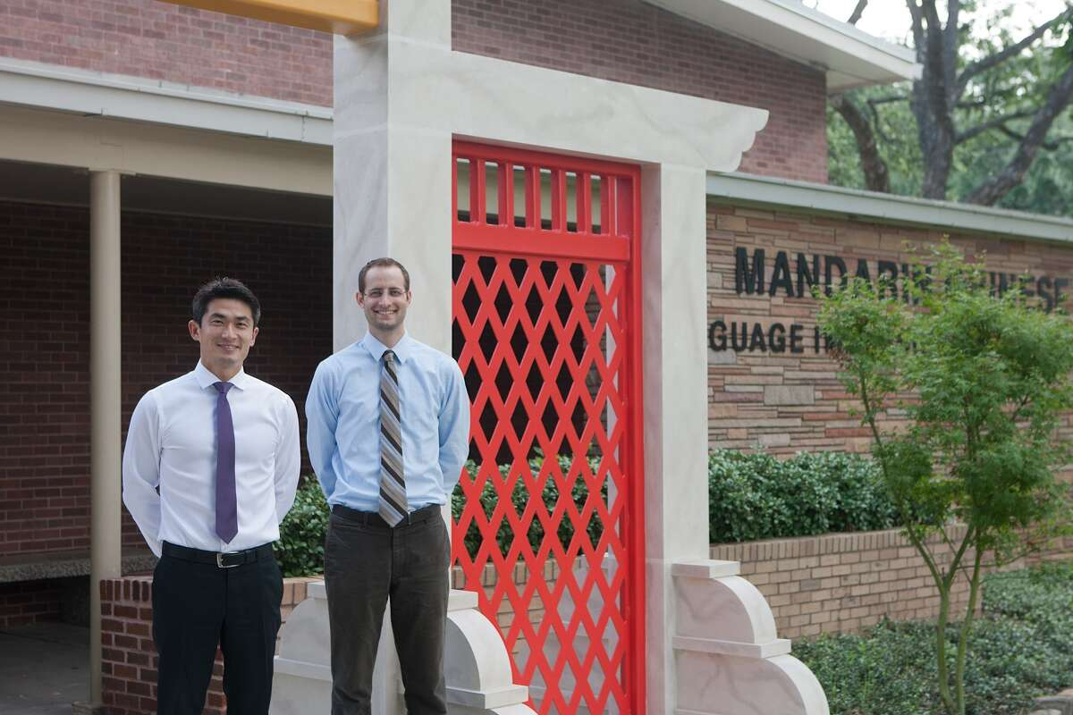 Principal ChaoLin Chang and Assistant Principal Dane Roberts are welcoming students this week for a new school year at Mandarin Chinese Language Immersion Magnet School.