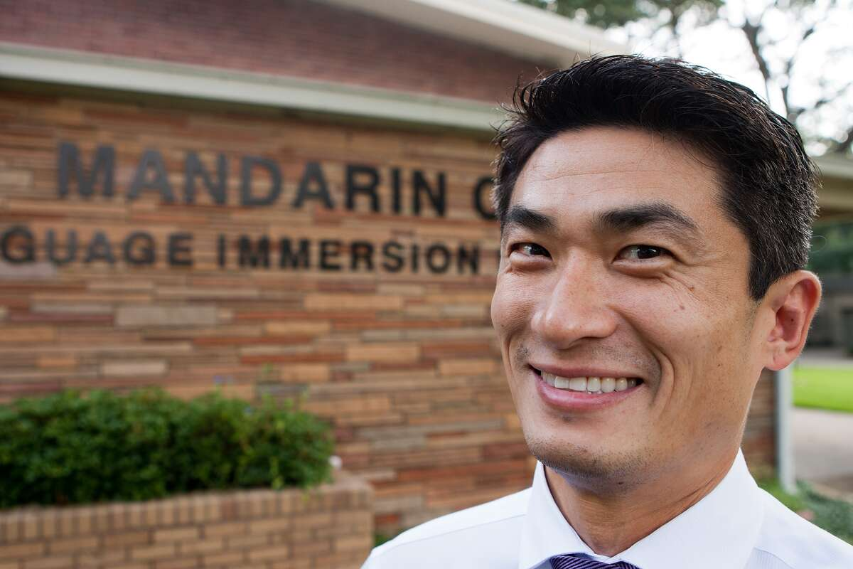 ChaoLin Chang is the new principal of Houston Independent School District's Mandarin Chinese Language Immersion Magnet School.