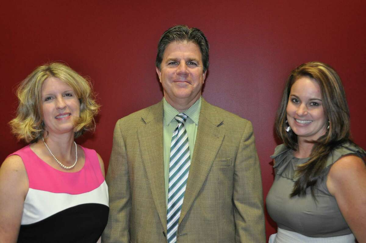 Educators taking new posts as principals at the secondary level at Spring Branch school district are: Jennifer Parker, left, Spring Woods High School; Paul Suess, Spring Oaks Middle School; and Jennifer Collier, Westchester Academy for International Studies.