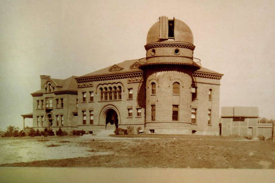 Historic photo showing the Dudley Observatory's former location on New Scotland Avenue in Albany, N.Y. For the first time since leaving its then well-known Albany location in 1965, pictured, the Observatory will have enough space to display its vast collection of historic and scientific artifacts to the public. (Courtesy Dudley Observatory) Photo: LMF / ALBANYTIMES UNION