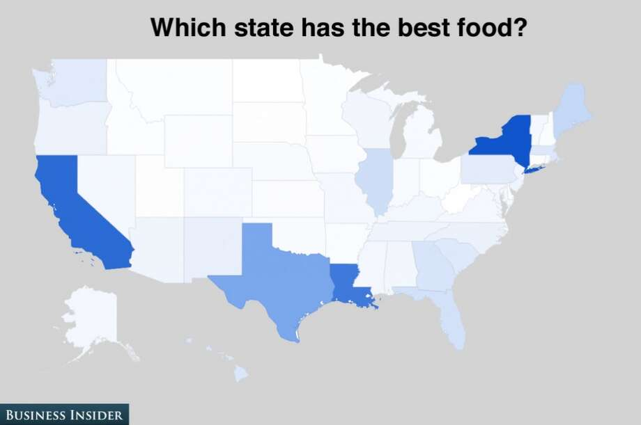 New York, California and Louisiana are considered to have the best cuisine in the country. Photo: Business Insider